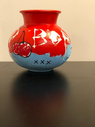 (CreativeWork) RedBoars by Nathan Paddison. Other Media. Shop online at Bluethumb.