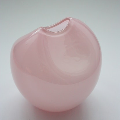 (CreativeWork) Penny Pincher - Pink 'Prawn' by Emma Young. Other Media. Shop online at Bluethumb.