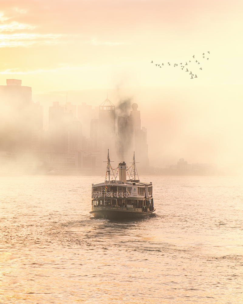 (CreativeWork) One Evening in Hong Kong Ed. 1 of 10 by Forest Harder. Photograph. Shop online at Bluethumb.