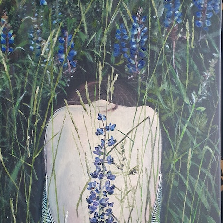 (CreativeWork) Healing  by ALAN HEATHER-XIA. Oil Paint. Shop online at Bluethumb.