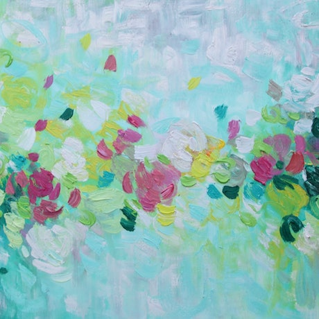 (CreativeWork) Together With You  by Belinda Nadwie. Oil Paint. Shop online at Bluethumb.