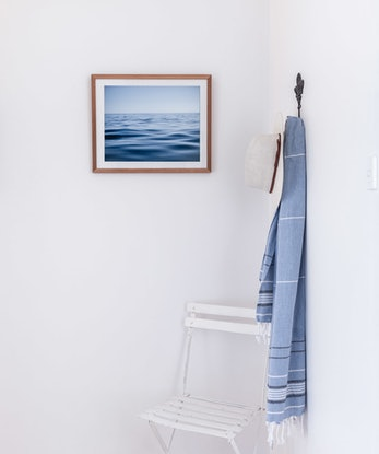 (CreativeWork) A calm sea Ed. 1 of 5 by Wendy Philip. Photograph. Shop online at Bluethumb.