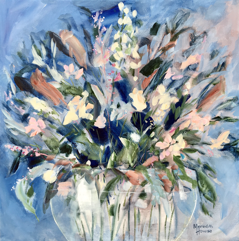 (CreativeWork) A Great Bunch by Meredith Howse. Acrylic Paint. Shop online at Bluethumb.