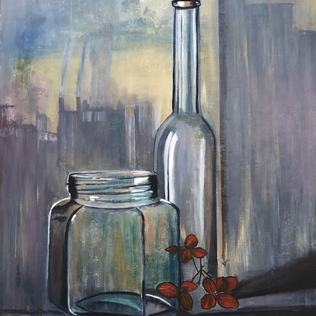 (CreativeWork) Simple life by Bernadette McConville. Acrylic Paint. Shop online at Bluethumb.