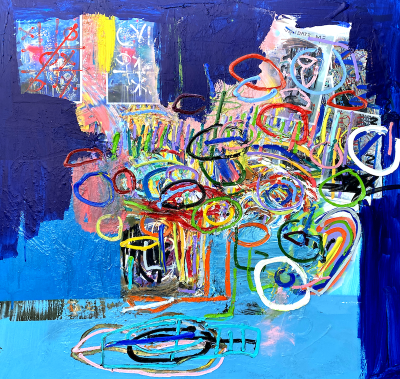 (CreativeWork) Untitled by Cameron Holmes. Mixed Media. Shop online at Bluethumb.