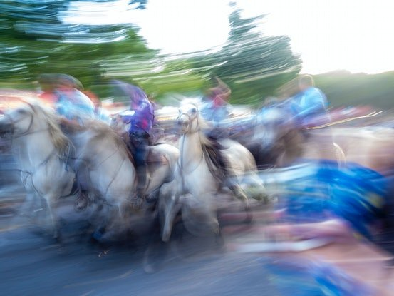 (CreativeWork) Horse Rush Ed. 1 of 25 by Ed Fetahovic. Photograph. Shop online at Bluethumb.