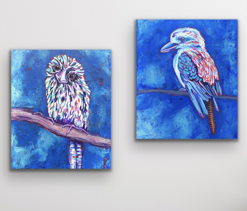 (CreativeWork) Commission for Majorie by Kylee Rees. Acrylic Paint. Shop online at Bluethumb.