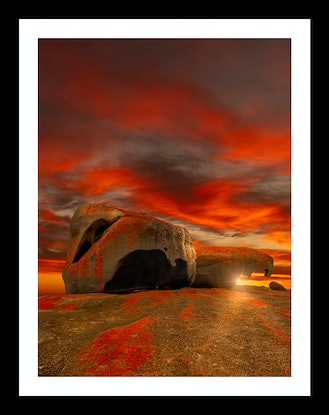 (CreativeWork) Remarkable Rocks Ed. 12 of 100 by Nick Psomiadis. Photograph. Shop online at Bluethumb.