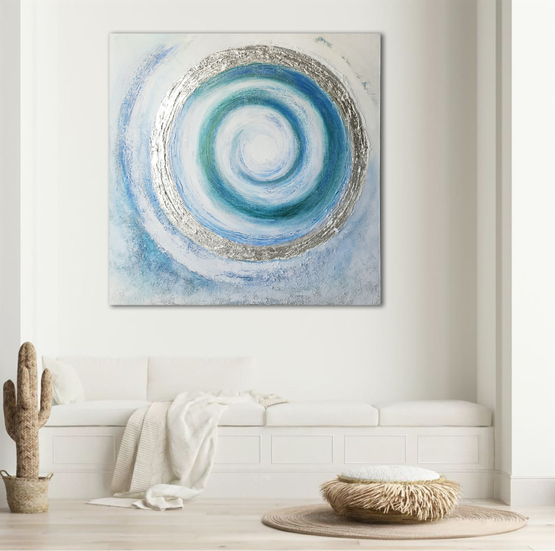 (CreativeWork) Halo by Brigitte Ackland. Mixed Media. Shop online at Bluethumb.