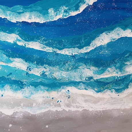 (CreativeWork) Take Me To Anywhere You Want To Go  by HSIN LIN. Acrylic Paint. Shop online at Bluethumb.