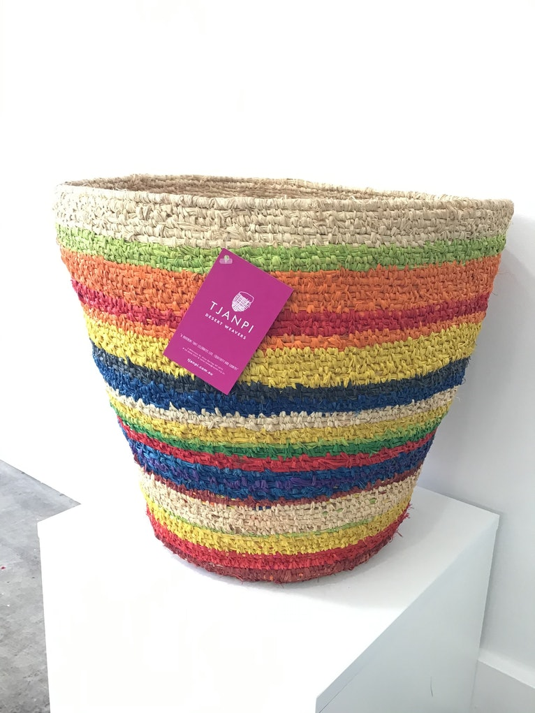 (CreativeWork) Basket 4705-19 (A) by Imitjala Curley. Other Media. Shop online at Bluethumb.
