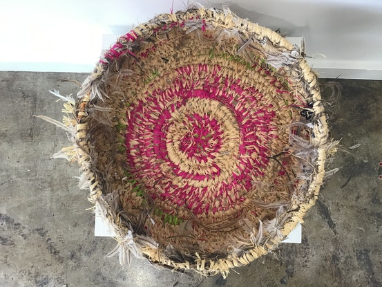 (CreativeWork)  Basket 720-20 (A) by Manyitjanu Lennon. Other Media. Shop online at Bluethumb.