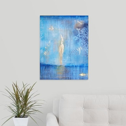 (CreativeWork) Ascended by Tina Dawes. Acrylic Paint. Shop online at Bluethumb.