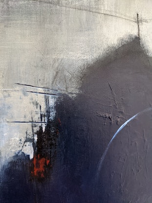 (CreativeWork) White On The Right by Davide DiCenso. Acrylic Paint. Shop online at Bluethumb.