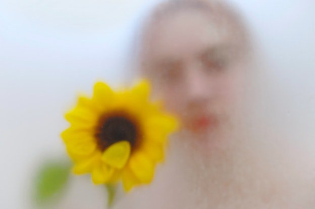 (CreativeWork) Girl with Sunflower Ed. 1 of 8 by Zorica Purlija. Photograph. Shop online at Bluethumb.