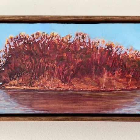 (CreativeWork) Recovery (FRAMED) by Kate Gradwell. Acrylic Paint. Shop online at Bluethumb.
