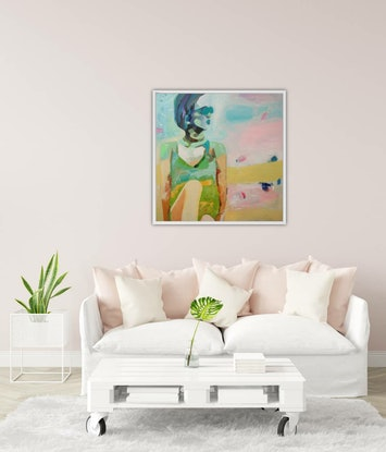 (CreativeWork) Turn your Magic On (Includes Framing) by Tulika Das. Acrylic Paint. Shop online at Bluethumb.