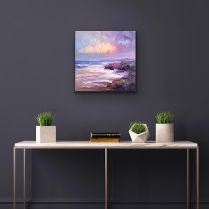 (CreativeWork) Parkdale rocks No 4 by Liliana Gigovic. Oil Paint. Shop online at Bluethumb.