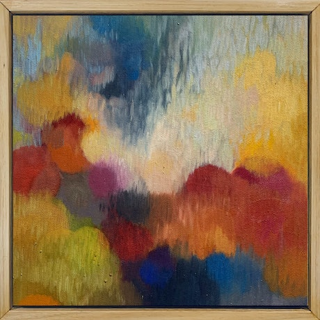 (CreativeWork) Modulation in C by Louise Isackson. Oil Paint. Shop online at Bluethumb.