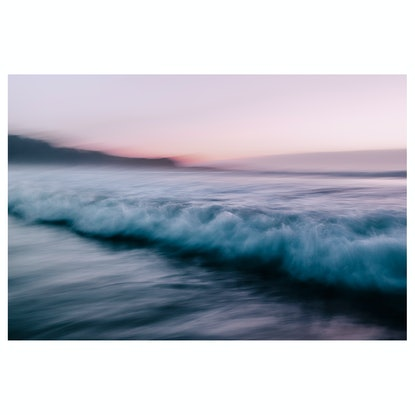 (CreativeWork) Sunrise Sea 2 - Limited Edition Print by Georgie Lowe. Photograph. Shop online at Bluethumb.