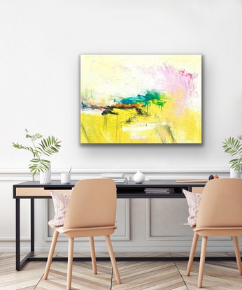 (CreativeWork) Blossom by Charles Hebert. Oil Paint. Shop online at Bluethumb.
