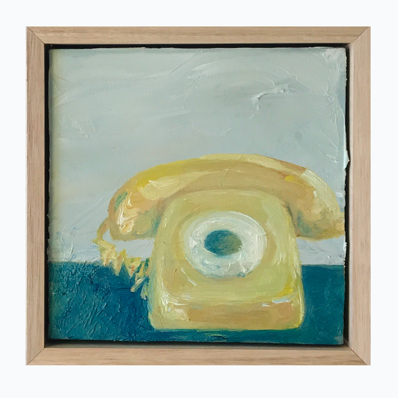 (CreativeWork) Telephone II by Marnie McKnight. Oil Paint. Shop online at Bluethumb.