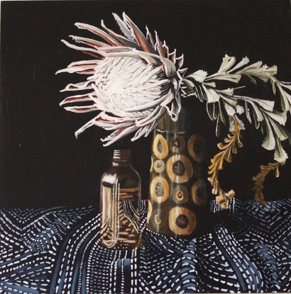 (CreativeWork) Preservation by Belinda Jeanes. Acrylic Paint. Shop online at Bluethumb.