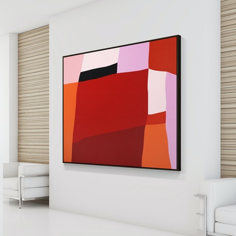 (CreativeWork) I see red, I see red, I see red by Scott Thomlinson. Acrylic Paint. Shop online at Bluethumb.