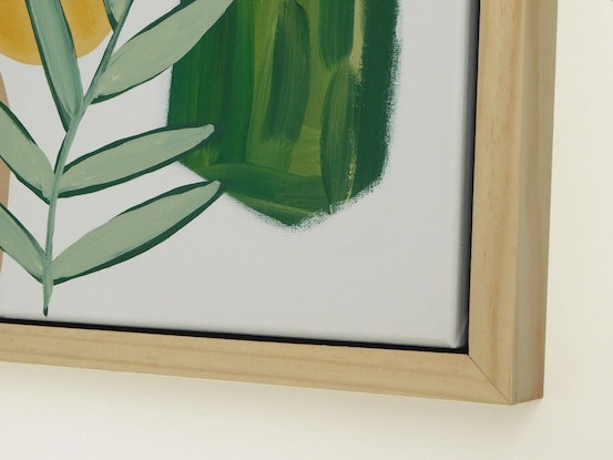 (CreativeWork) Green Cove by Katie Wykamp. Acrylic Paint. Shop online at Bluethumb.