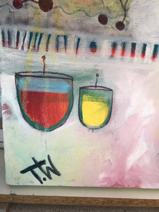 (CreativeWork) Underwater Fun by Tania Weekes. Oil Paint. Shop online at Bluethumb.