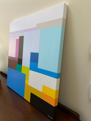 (CreativeWork) Vista I by Susie Monte. Acrylic Paint. Shop online at Bluethumb.