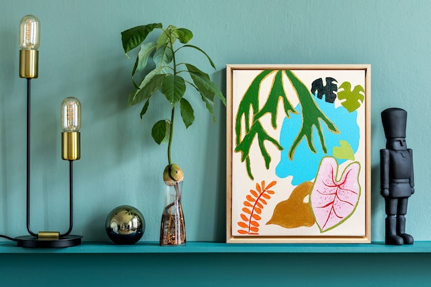 (CreativeWork) Oasis 2 by @theplant _kingdom. Acrylic. Shop online at Bluethumb.