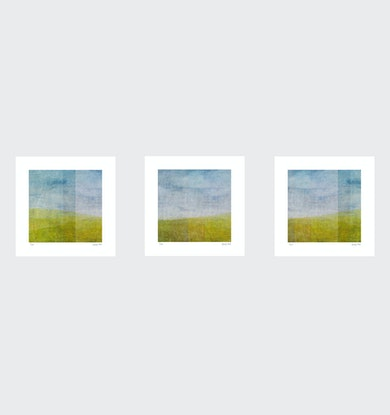 (CreativeWork) Third View Series- Set of 3- White Box Frame Ed. 1 of 35 by George Hall. Print. Shop online at Bluethumb.
