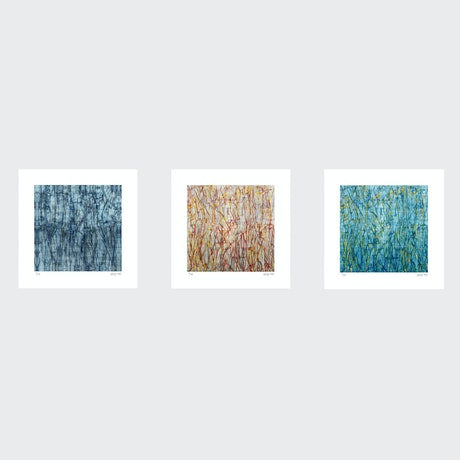 (CreativeWork) Dance  Series- Set of 3- White Box - unframed Ed. 1 of 35 by George Hall. Print. Shop online at Bluethumb.