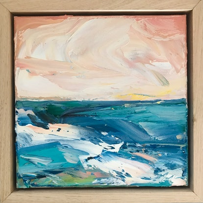 (CreativeWork) Middle Distance by Marnie McKnight. Oil Paint. Shop online at Bluethumb.