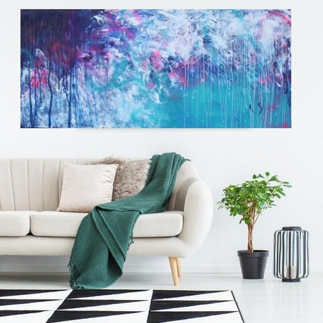 (CreativeWork) Remember your place by Belinda Nadwie. Oil Paint. Shop online at Bluethumb.
