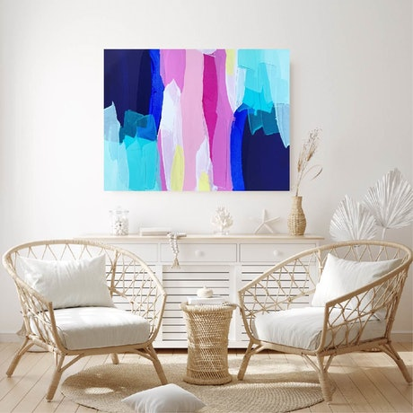 (CreativeWork) On A Day Like Today by Maggi McDonald. Acrylic Paint. Shop online at Bluethumb.