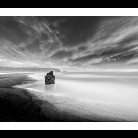 (CreativeWork) Obsidian Beach Ed. 12 of 100 by Nick Psomiadis. Photograph. Shop online at Bluethumb.