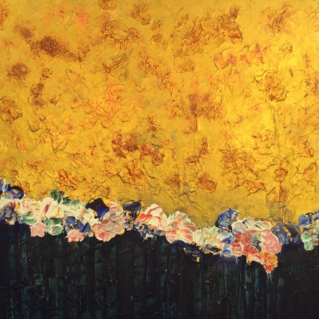 (CreativeWork) Blossoming by Magdalena Knight. Acrylic Paint. Shop online at Bluethumb.