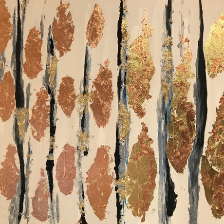 (CreativeWork) After the Fires by Roberta Sky. Mixed Media. Shop online at Bluethumb.