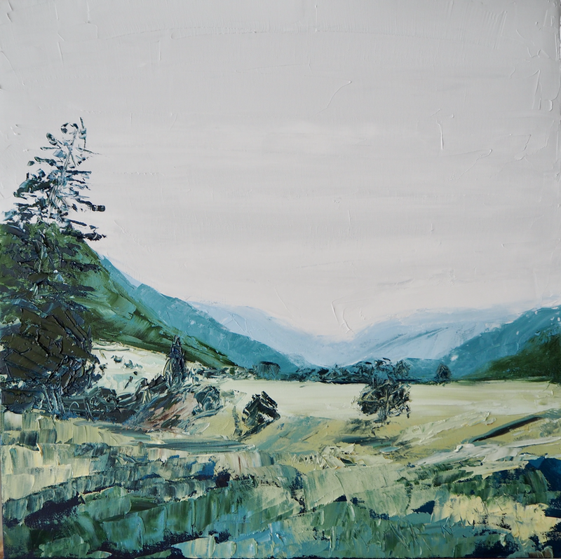 (CreativeWork) More Than You Know  by Michelle Keighley. Oil Paint. Shop online at Bluethumb.
