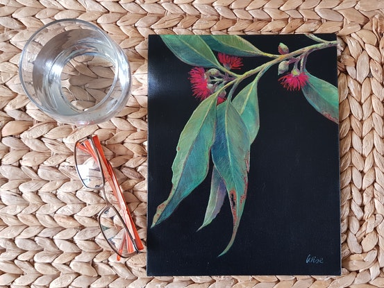 (CreativeWork) Our time to shine 2 by Kate Wise. Acrylic Paint. Shop online at Bluethumb.
