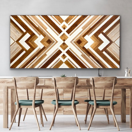 (CreativeWork) 'Alison'         Recycled timber wall art by Steve McLaughlin. Other Media. Shop online at Bluethumb.