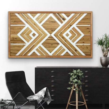 (CreativeWork) 'Cooper' rustic cypress Wall Art by Steve McLaughlin. Other Media. Shop online at Bluethumb.