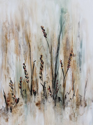 (CreativeWork) Summer Breeze by Sue Dyde. Mixed Media. Shop online at Bluethumb.