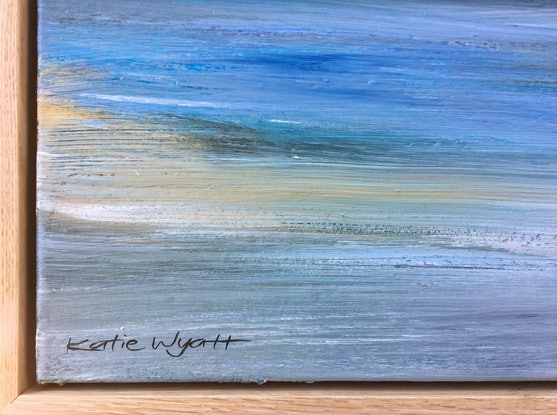 (CreativeWork) Delphine by Katie Wyatt. Acrylic Paint. Shop online at Bluethumb.