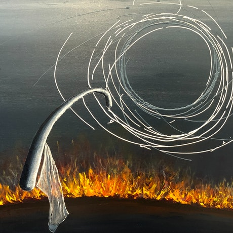 (CreativeWork) Turning Point by Andrew Smith. Acrylic Paint. Shop online at Bluethumb.