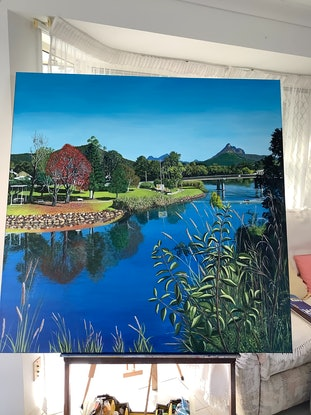 (CreativeWork) COMMISSION FOR SHANE by Toni Lucas. Acrylic Paint. Shop online at Bluethumb.