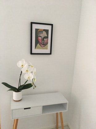 (CreativeWork) Within us all - framed by Kate Rogers. Mixed Media. Shop online at Bluethumb.