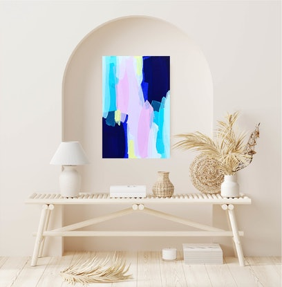 (CreativeWork) I Don't Know Why by Maggi McDonald. Acrylic Paint. Shop online at Bluethumb.